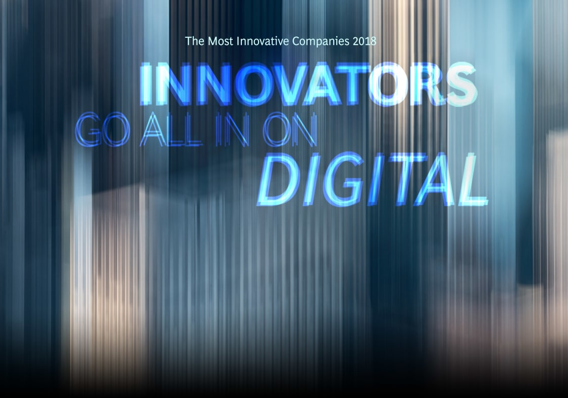 Most Innovative Companies 2018: Innovation and Digital