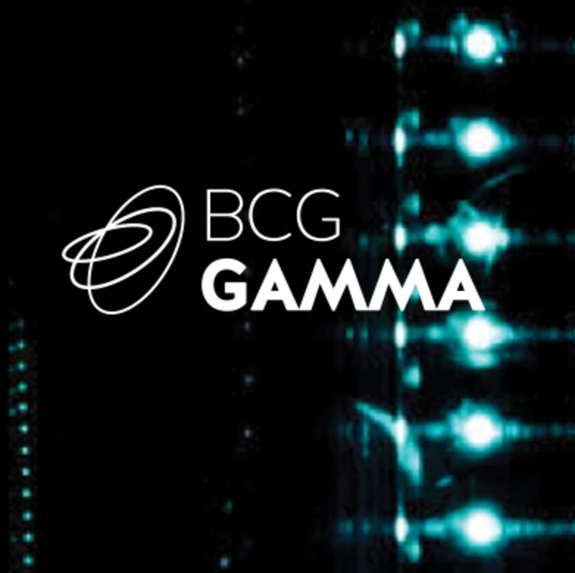BCG GAMMA - Advanced Analytics & Data Science Consulting